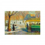 William Glackens The Green Car puzzle, 1000 Piece Wooden Fun Jigsaw,Apply toAnniversary 75cm X 50cm